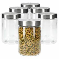 6er Set Bera Vorratsglas 1,2L Vorratsdosen Vorratsgläser Aufbewahrung Gläser