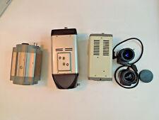5 Pc LOT- IQeye 751; IP Box Cam 5300; Samsung SNC-550; 2 Pentax 3-8mm CCTV Lens