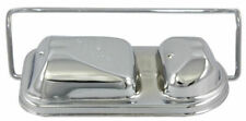 Chrome Steel Master Cylinder Cover w/ 1 Bail Mopar Dodge Crysler Plymouth 71-79