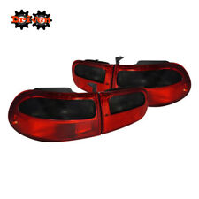 92-95 Honda Civic EG Hatchbach 3Dr Si Red Smoked Tail lights OE Style