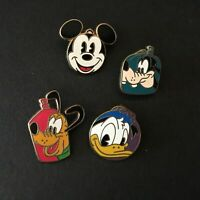 DCL FAB 4 Mount Rustmore 4 Pin Set Mickey Donald Pluto Goofy Disney Pin 3393