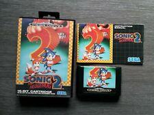 Vendo Sonic 2 para Sega Mega Drive para colección