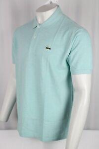 Lacoste Men's Marl Classic Fit L.12.12 Polo Shirt Size XL Light Green L1264 51