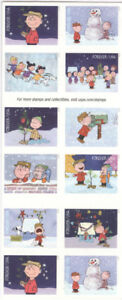 USPS Sheet of 20 Stamps Peanuts Snoopy A Charlie Brown Christmas Comic MNH 2015