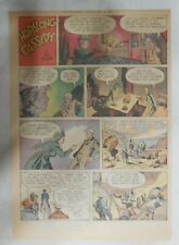 Hopalong Cassidy Sunday Page by Dan Spiegle from 5/17/1953 Size: 11 x 15 inches