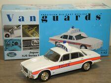 Jaguar XJ6 Series I Thames Valley Police - Vanguards VA08601 1:43 in Box *39292