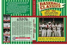 "1933-1957 All-Star Games ""From Ruth To Mays"" now on DVD!    Color!"