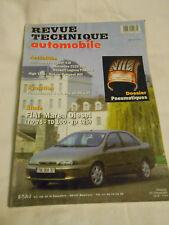 RTA revue technique n° 606 FIAT marea diesel TD 75 / 100 / 125