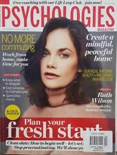 Psychologies Magazine UK Oct 2018 Ruth Wilson Fresh Start  FREE SHIPPING CB