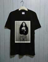 Rare! Cher singer tour T-shirt, Cher tour Men Funny Size S M L XL 234XL P792