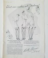 1939 women's Belle Sharmeer don't wear another gal stockings Hosiery slip ad