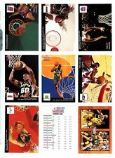 1993-94 NBA Hoops Scoops complete 28 card set + MB1 Magic/Bird