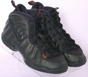 Nike 843755-300 Little Posite Pro PS Sequoia Basketball Sneakers Youth US 1.5Y