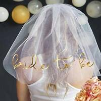 Bachelorette Party Bride To Be Gilded Team Bride Bridal Shower Wedding Decor