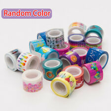 10Pcs Foil Decorative Washi Tape Hand Account Kawaii Mini Tool Tape Random