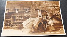 """ ALLERFORD BRIDGE "" Real Photographic Postcard .by Judges Ltd (C)"