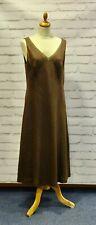 Japer Conran Ladies brown midi dress size 16