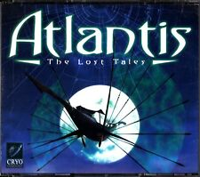 ATLANTIS: The Lost Tales 4-CD PC CD-ROM Version (Fantasy Adventure Game)