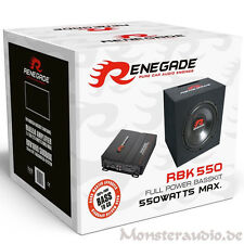 RENEGADE 550 Watt Bass Set Auto Hifi Komplettanlage Subwoofer Verstärker RBK550