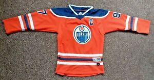 Men's adidas Connor McDavid Orange Edmonton Oilers Authentic Player Jersey