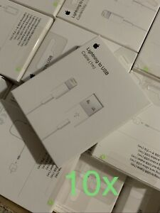10x_Original Quality OEM 3ft, USB Cable Charger For iphone, 6 7 8 X 11 12 promax