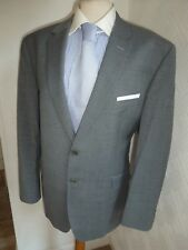 MENS TED BAKER ELEVATED GREY SUMMER PROM WOOL SUIT JACKET 44 S WAIST 38 LEG 26