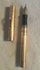 """Vintage WAHL Gold filled Fountain Pen 4 1/4"""" long #3 gold NIB"""