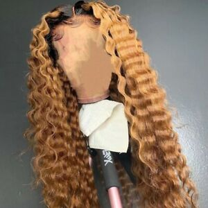 8A 180 Density Unprocessed Brazilian 1b/Honeyblonde Lacefront Human Hair Wig