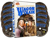 Wagon Train: Complete Second Season - 10 DISC SET (2014, DVD New)