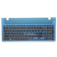 NEW English For Samsung NP350V5C NP355V5C US Keyboard With frame blue cover