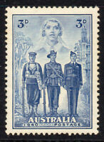 Australia Stamp 3d Stamp 1940 Mounted Mint (382)