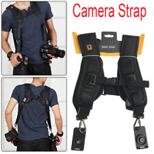 Profession Rapid Double Dual Shoulder Sling Camera Strap for DSLR Digital Camera