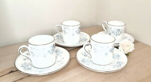 WEDGWOOD (WEDGEWOOD) Belle Fleur cups and saucers
