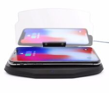 wireless mobile phone charger wireless charging hud car navigation support.