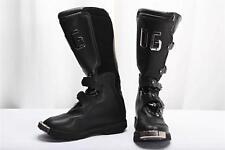 DOLCE & GABBANA WOMENS Black Leather SKI - SNOW WINTER Steel Toe Boot Shoe 7-37