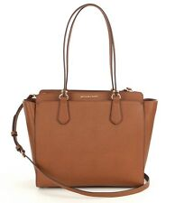 Michael Kors Dee Dee Large Convertible Saffiano Leather Tote (Luggage)