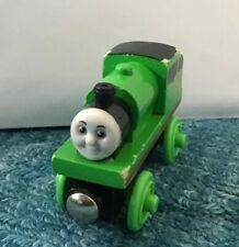 Vintage 1999 PERCY Wood Wooden Thomas Train Tank Engine & Friends rare green