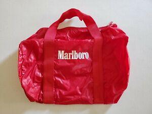 NEW Vintage 1984 Marlboro Sports Bag Small Gym Bag Duffel Travel Philip Morris