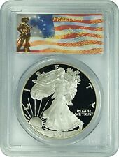 2004-W PCGS PR70DCAM Silver Eagle (FREEDOM Label)