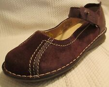 DR DOC MARTENS Chloe Brown Suede Leather Mary Janes US 7 EU 38 UK 5 - WORN ONCE!