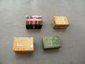 Hornby O gauge Luggage Set Tinplate unboxed 0