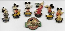 Mickey 60th Thru the Years pins (Disney Stores US),1 General Release pin (1988)
