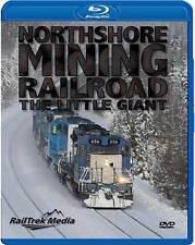 Northshore Mining Railroad The Little Giant BLU-RAY NEW Railtrek Media EMD Power