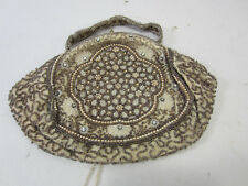 Vintage Hand Made in Belgium Beaded Purse for Projects