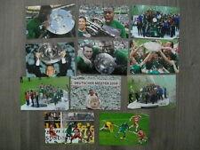 11x Echtfoto DFB FC Schalke 04 VfL Wolfsburg  FC Bayern München HSV BVB 09 BMG