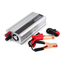 1500W Pure Sine Wave Car Power Inverter 24V DC to 220V AC USB Charger HB1
