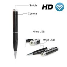 Updated HD 1080P Peephole Cam Silver Spy Pen DV Direct WIFI Hidden Built in 16GB