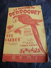Partition Le danseur du perroquet de Zequinkha abreu 1957