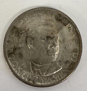 1946 U.S. Silver Half Dollar Booker T. Washington