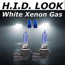 HB3 9005 501 100w White Xenon HID Look Headlight Dip Low Beam Bulbs